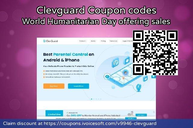 Clevguard 惊人 优惠, 2021 万圣节